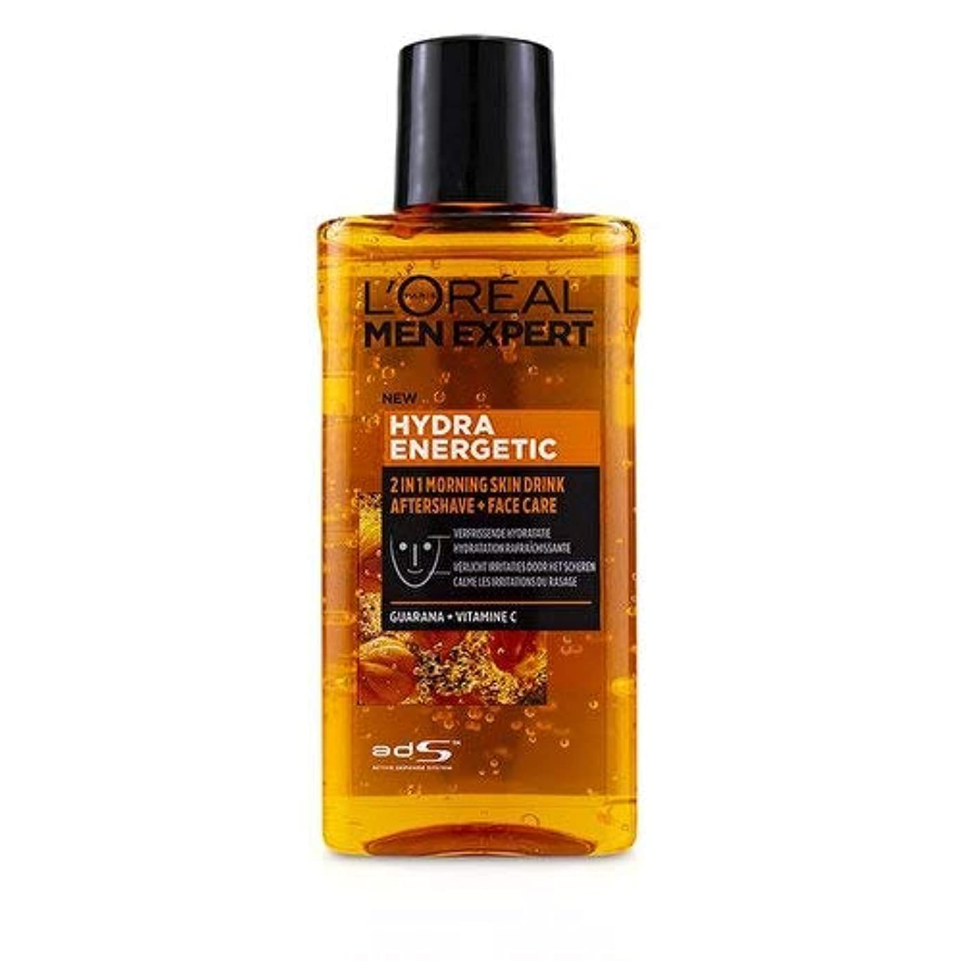 ガジュマル協会明るくするロレアル Men Expert Hydra Energetic 2-In-1 Aftershave + Facecare 125ml/4.2oz並行輸入品