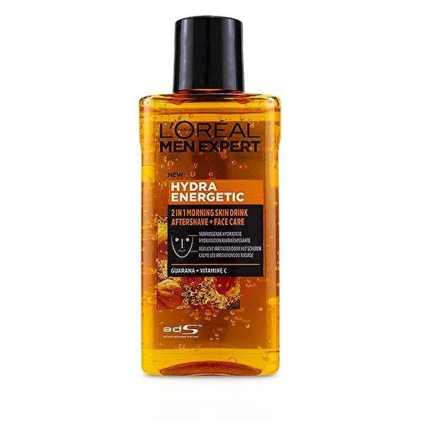 ドラッグレルム歌ロレアル Men Expert Hydra Energetic 2-In-1 Aftershave + Facecare 125ml/4.2oz並行輸入品