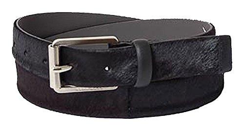 BOSS Ceinture homme men's belt leather black 80cm