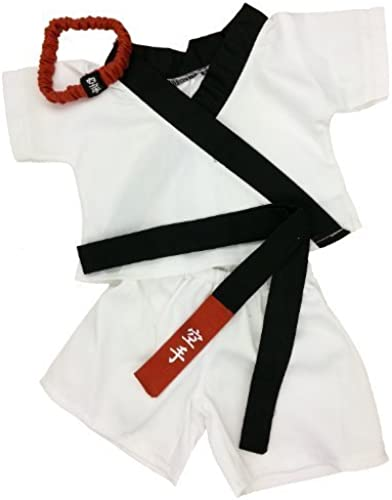 oferta de tienda Karate Outfit Fits Most 14 - 18 Build-a-bear, Vermont Vermont Vermont Teddy Bears, and Make Your Own Stuffed Animals by Stuffems Toy Shop  gran descuento