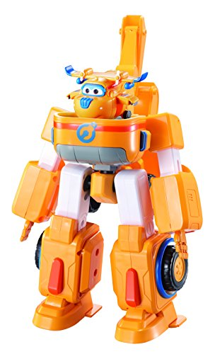 Super Wings EU720312-Transforming Vehicles-Donnie Superwings Donnie'S Dozer-Véhicule Transformable En Robot, EU720312, 18 cm