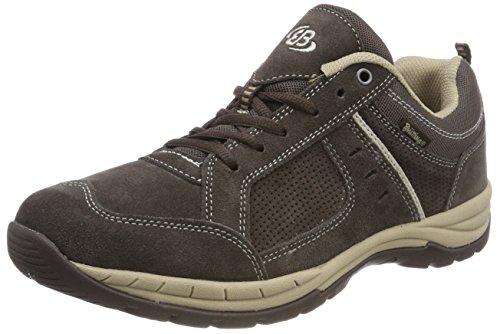 Brütting Top Comfort Herren Sneaker, Braun/ Beige, 46 EU