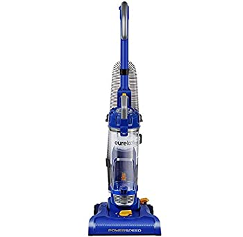 Eureka NEU182A PowerSpeed Lightweight Bagless Upright Vacuum Cleaner Blue  Renewed
