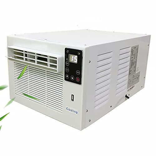 JinYiny 3000 BTU Air Conditioner 5~30℃ Adjustable Temperature Mobile Air Conditioner with Remote Control 3 in 1 Evaporative Coolers, Dehumidifier Air Conditioner for Office, Home, Dorm