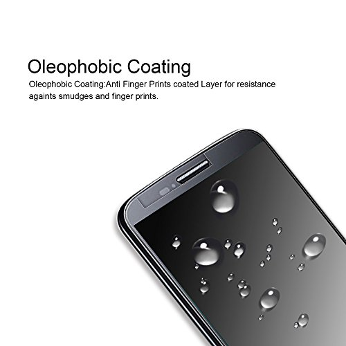 [2-Pack] Supershieldz for Alcatel Fierce 4 / Alcatel Pop 4 Plus Tempered Glass Screen Protector, Anti-Scratch, Anti-Fingerprint, Bubble Free, Lifetime Replacement Warranty