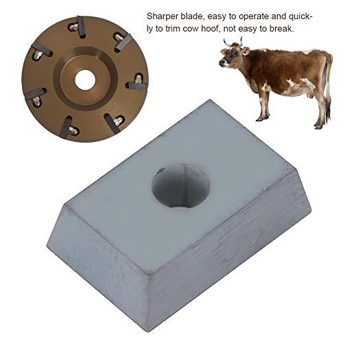 AUNMAS hoefschmied Equine Hoof Caring accessoires professionele legering voet trimmen plaat elektrische snijder onderdeel voor boerderij Cattle Horse Sheep