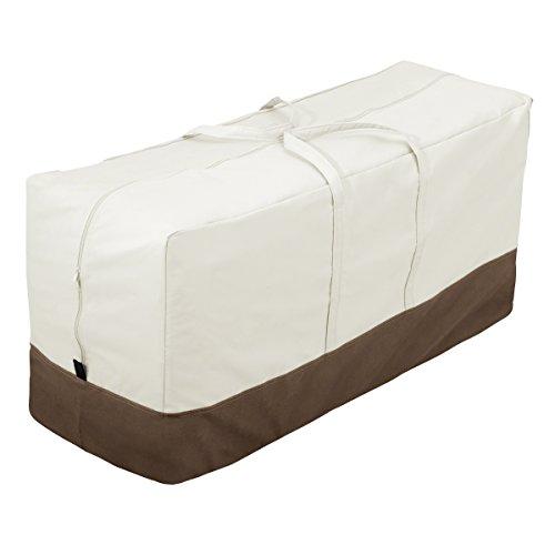 AmazonBasics - Bolsa de almacenamiento para cojines o fundas de jardín