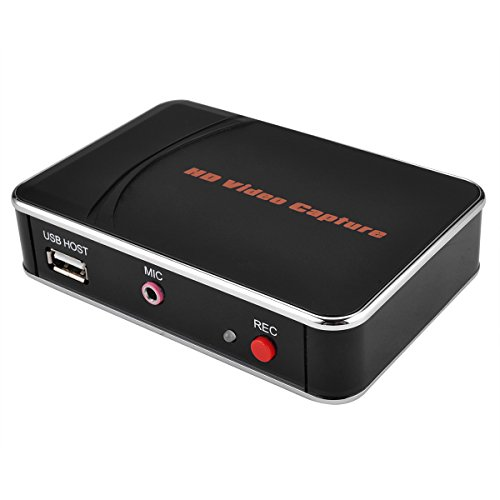 HD Game Capture, HD ezcap Video Capture, 1080P HDMI Recorder into USB Disk for Xbox One / 360 PS4 PS3 WII