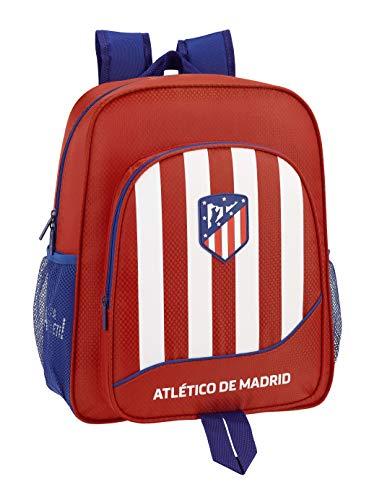 Club Atlético de Madrid niños Equipaje, Roja, 38 cm