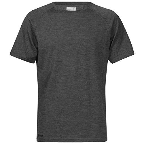 Bergans Sveve Wool T-Shirt Homme, Graphite Melange, s