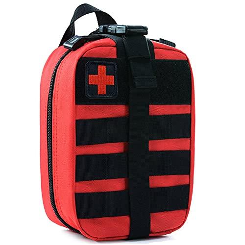 N\C Kit de Primeros Auxilios táctico Molle EMT Bag Abrible IFAK Kit médico Militar Suministros médicos de Emergencia al Aire Libre