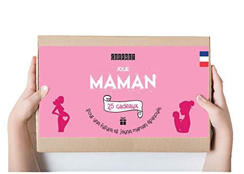 Calendrier evenement Coffret Cadeaux Jeune et Future Maman 25 Surprises - IDEE Cadeau de Grossesse et Naissance Femme