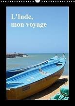L'Inde, Mon Voyage 2018: Inde De Kovalam Au Kerala Jusqu'au Cap Comarin Au Tamil Nadu (Calvendo Art) (French Edition)
