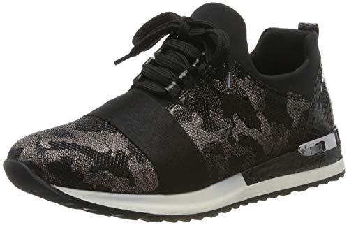 Remonte Damen R2505 Sneaker, Schwarz (Schwarz-Antik/Schwarz/Schwarz/Schwarz 02), 42 EU