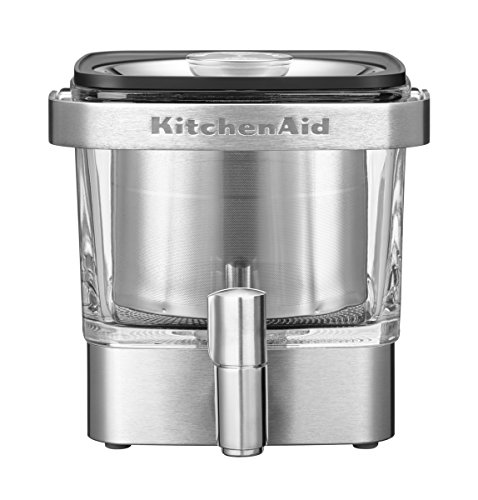 KitchenAid 5 kcm4212sx Cold de Brew – Cafetera, acero inoxidable, Plata
