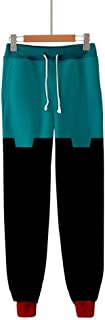 My Hero Academia Pants Izuku All Might Cosplay Gym Joggers Casual Sports Training Sweatpants