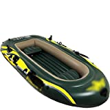 Bote Inflable con remos, Barco de Goma Inflable, Kayak Engrosada, Barco Inflable for Adultos WTZ012 (Size : 2.8 * 1.5m)
