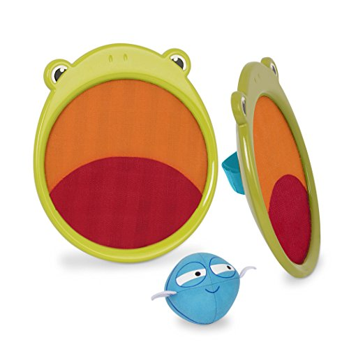 B. toys by Battat – Critter Catchers Frankie The Frog – Ball & Catch Game Set For Kids 3+ (3-Pcs)