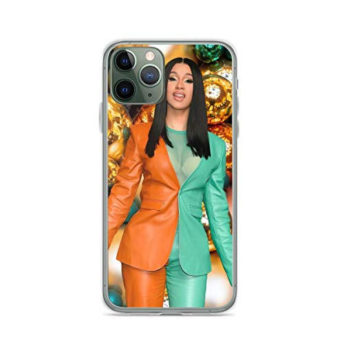Phone Case Cardi Shows Off Her Style Illustration B Sexy Photo Hd Soft Slim Fit Compatible for iPhone 12 11 X Xs Xr 8 7 6 6s Plus Pro Max Samsung Cover
