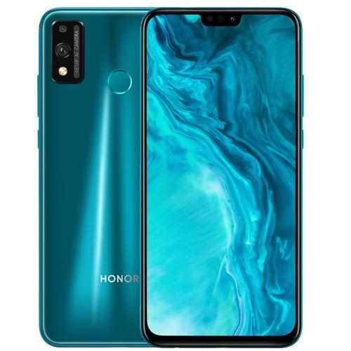 Honor 9X Lite w/Play Store (128GB, 4GB) 6.5', 48MP, Dual SIM GSM Unlocked Global 4G LTE (T-Mobile, AT&T, Metro, Straight Talk) International Model JSN-L23 (Emerald Green, 64GB SD + Case Bundle)