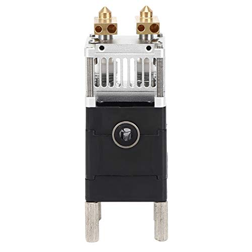 UM2 Double Jet Extruder, 3D Printer Accessories Linear Bearing for 1.75mm Consumables Compatible with Ultimaker2 / Cross-Shaft 3D Printers