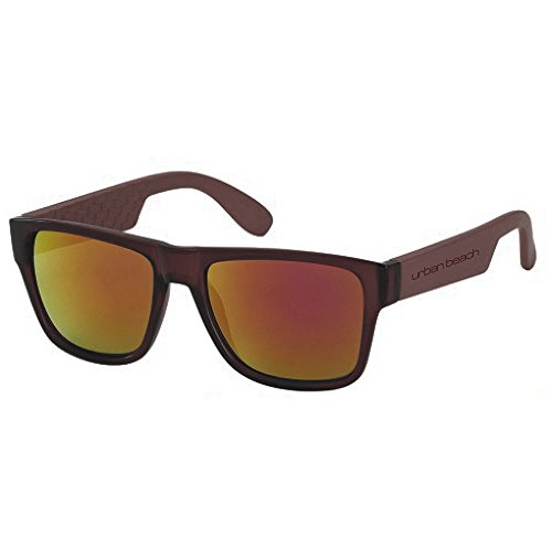 Urban Beach Rai, Gafas de sol Hombre, marrón, 52