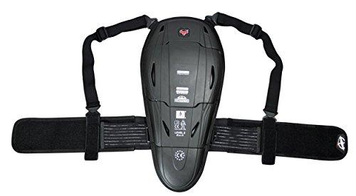 Premium Rückenprotektor ORINA mit Nierengurt - Wirbelsäulenschutz nach EN-1621-2 - Ski - Snowboard - Motorrad (L)