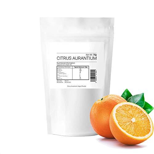 Citrus AURANTIUM Powder 75g 100% Pure No Additives Boosts Immunity Anti Aging