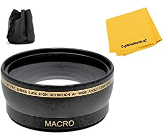 Wide, Tele, Filters, Bag, Tripod, Lens Cleaning Kit For Sony HDR-PJ820 HDR-PJ810 HDR-PJ650 HDR-PJ540 HDR-PJ430V HDR-CX430V Video Camera Accessory Kit