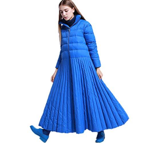 Downcoat Daunenjacken Parkas Rock Style/Special Design/Gute Qualität/Warme Abnutzung/Plus Size, Camping/Wandern/Bergsteigen/Wintersport Für Damenbekleidung,Blue,6XL