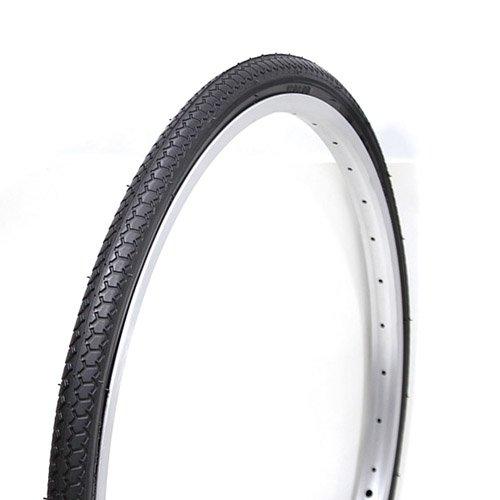 COMPASS コンパス 自転車タイヤ P1013(B003) 27×1 3/8 WO 27インチ ブラック 1ペア(タイヤ2本、チューブ(英式)2本、リムバンド2本) 1台分