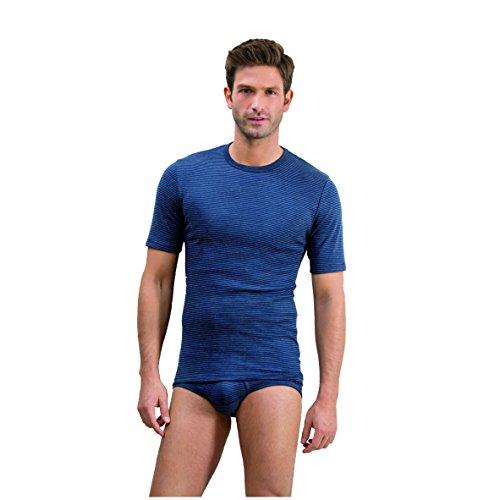 Ammann Herren Jacke 1/2 Arm Jeans 3er Pack Größe 8, Farbe anthrazit