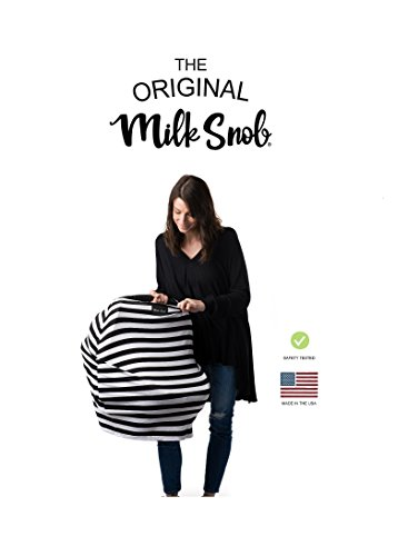 Milk Snob Cover B&W Signature Stripe