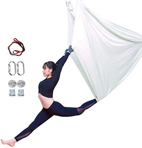Learn More About YAOSHUYANG Aerial Yoga Hammock, Aerial Yoga Swing Set, Ultra Strong Antigravity Yog...