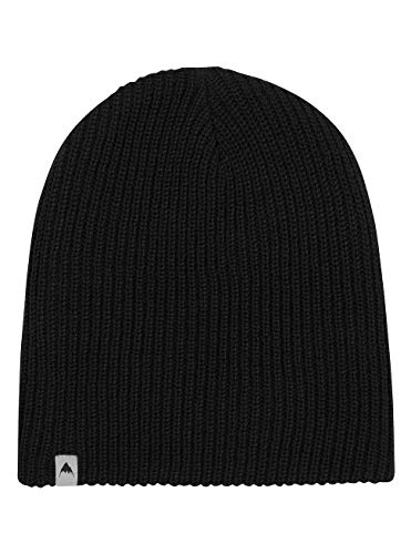 Burton Herren All Day Long Beanie Mütze, True Black, One Size
