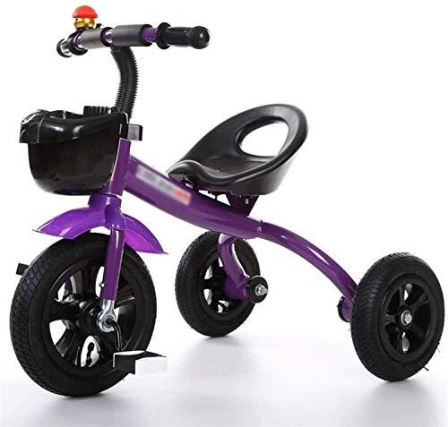 Tres ruedas niños triciclo triciclo 3 ruedas patinar diseño niños triciclo bicicleta niños niñas bebé coche