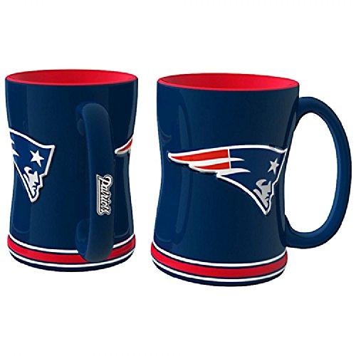 Caseys Boelter NFL Kaffeetasse, 450 ml, Keramik, New England Patriots, Einheitsgröße