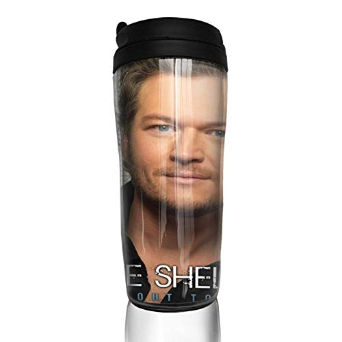 Blake Shelton Travel Mugs Coffee Cup Tumblers Mugs Coffee Mugs 12Oz Drinking Cup