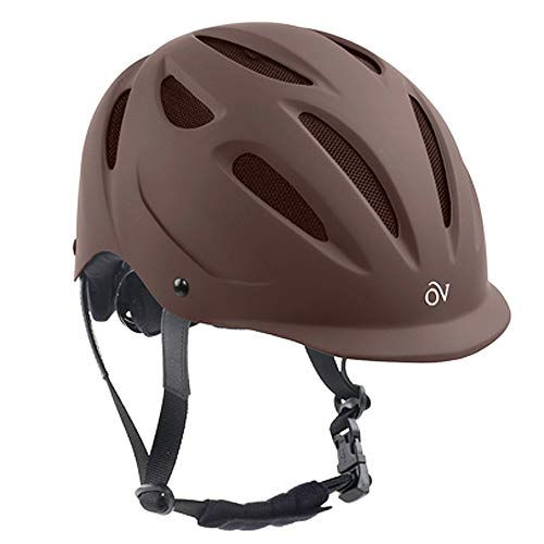 Ovation Women's Protege Riding Helmet, Brown Matte, X-Small/Small