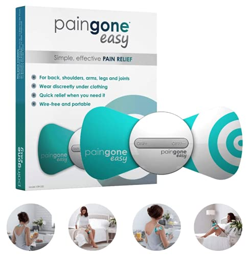 Easy | Ayuda a aliviar su dolor diario | Dolor crónico, dolor agudo, dolor espinal, dolor de rodilla, de cadera, tendinitis, ciática, alivio del dolor muscular, de espalda, usando la tecnologia TENS