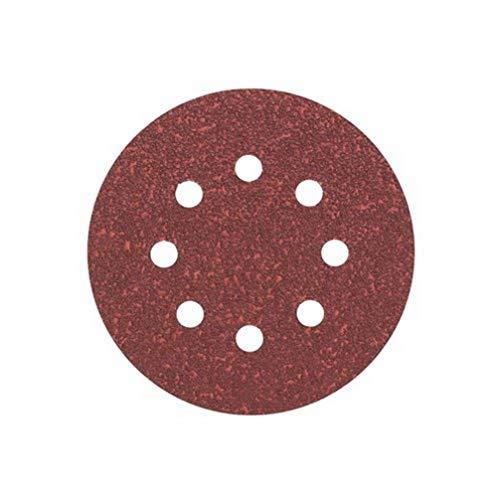 Bosch Professional Schleifblatt für Exzenterschleifer Holz und Farbe (5 Stück, Ø 125 mm, Körnung 80, C430)