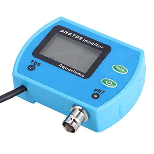 PH-monitor PH-testare hållbar för hemmabruk vid vattenanalys på plats (europeisk kontakt 220 V)