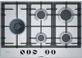 Bosch Serie 6 PCS7A5B90 piano cottura Acciaio inossidabile Incasso Gas