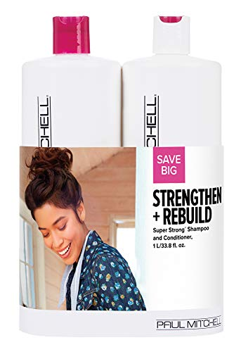 Paul Mitchell Strengthen And Rebuild Super Strong Liter Duo Set
