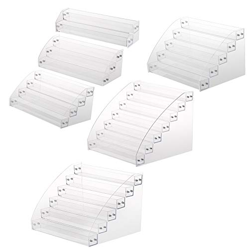 Nagellak Rack, 6 soorten Duurzame Nagellak Acryl Clear Make-up Display Stand Rack Organizer Houder