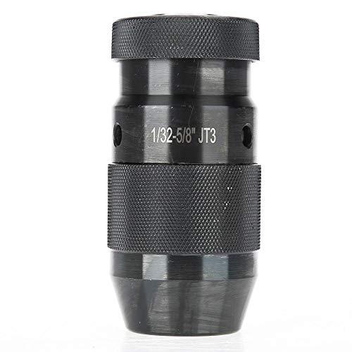 Boorkop, koolstofstaal 1/32-5/8 '' CNC-draaibank Zelfspannende boorkop Boorhouder JT33-houder (lichte belasting)