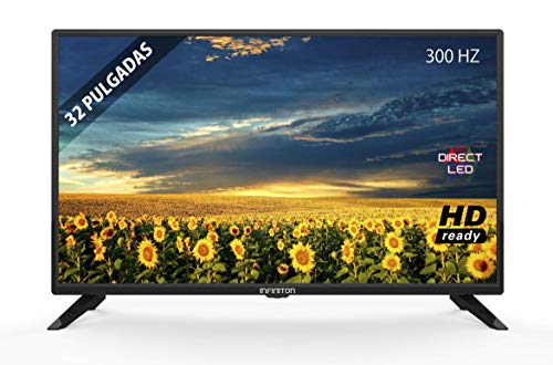 TV LED INFINITON 32' INTV-32 HD Ready - Reproductor y Grabador USB, 3X HDMI