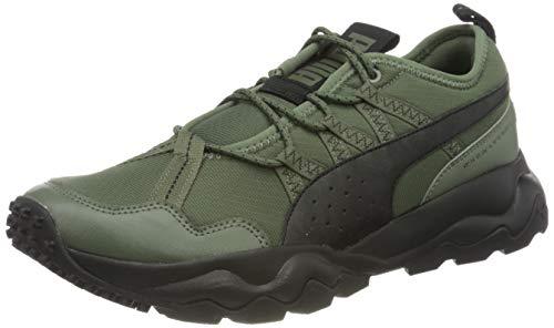 PUMA Ember Trl, Zapatillas de Running Hombre, Verde (Thyme Black), 39 EU