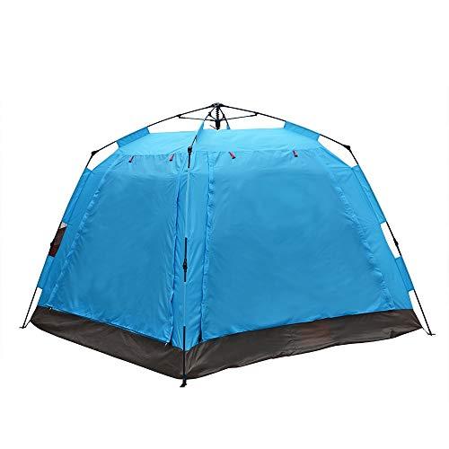 jklj Las Tiendas de Marco Construcción de Libre Tienda automática de una Sola Capa for Camping Ideal para Acampar al Aire Libre Senderismo (Color : Blue, Size : 1people)