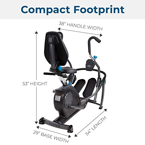Teeter FreeStep Recumbent Cross Trainer and Elliptical (LT1)